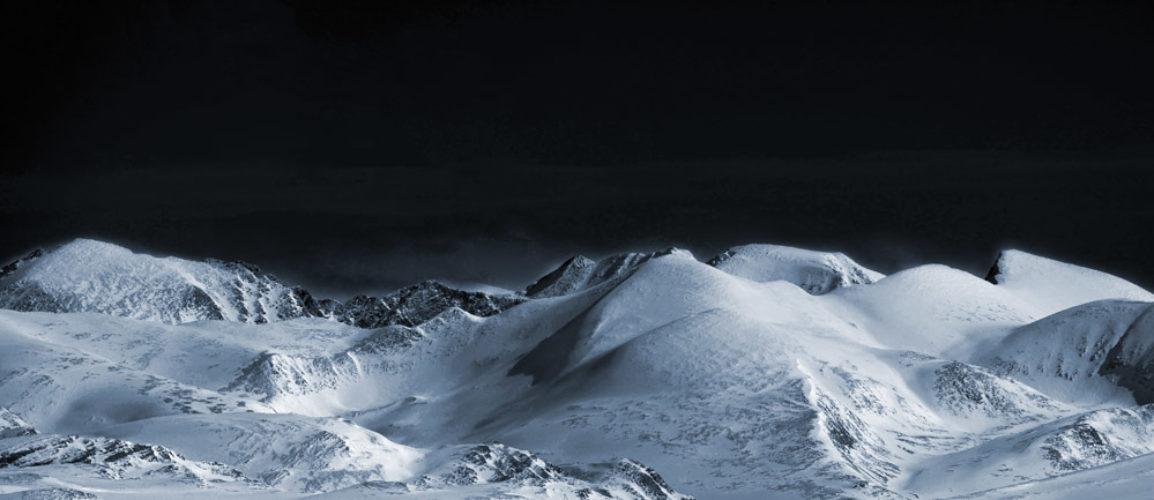 Bilde av Rondane dekket av snø